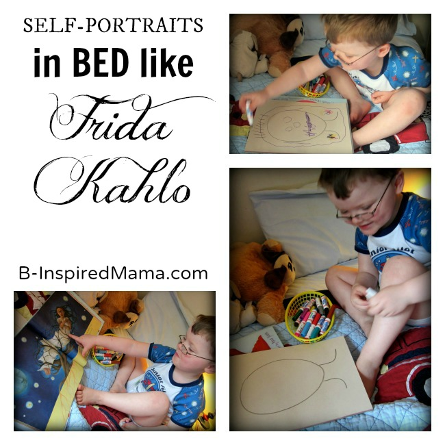 Frida Kahlo for Kids at B-InspiredMama.com