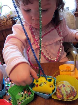 Having a Play-Doh Cupcake Birthday Party at B-InspiredMama.com