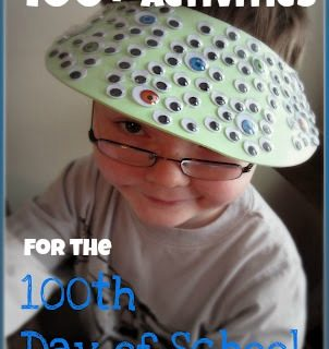 100th Day of School Activities at B-InspiredMama.com