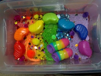 Rainbow Activities from The Kids Co-Op at B-InspiredMama.com