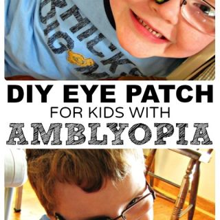 DIY Eye Patches for Kids with Amblyopia