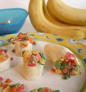 Fruity Banana Bites from B-InspiredMama