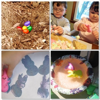 Creative Uses for Easter Candy at B-InspriedMama.com