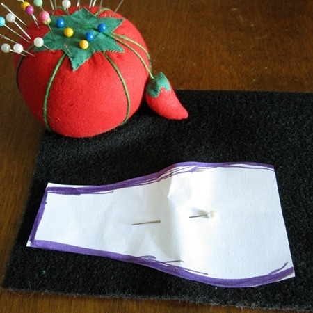 Pattern for DIY Eye Patches for Kids with Amblyopia