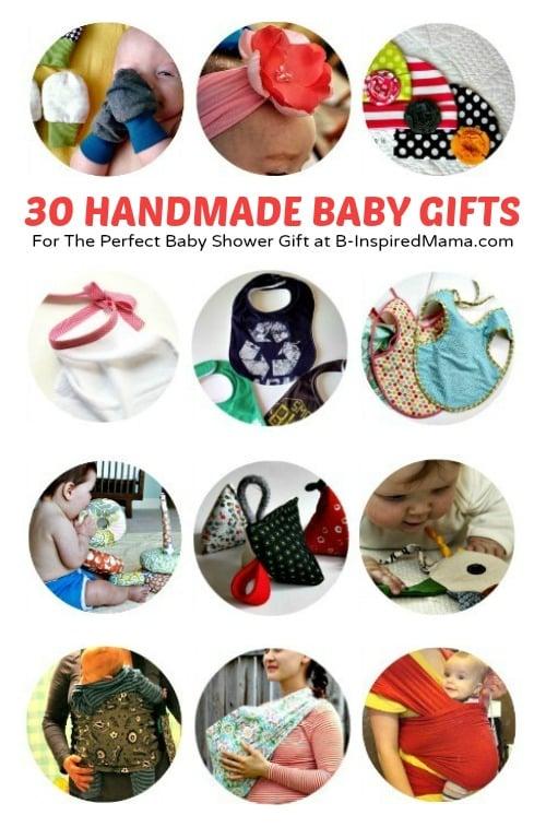 Diy Baby Gifts 30 Handmade Baby Gift Tutorials