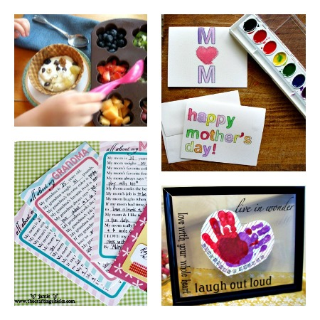 6 Simple Things Kids Can Do for Mom for Mother's Day at B-InspiredMama.com