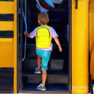 10 Tips for First Day of School Readiness - from the mouths of moms who've been there - at B-Inspired Mama