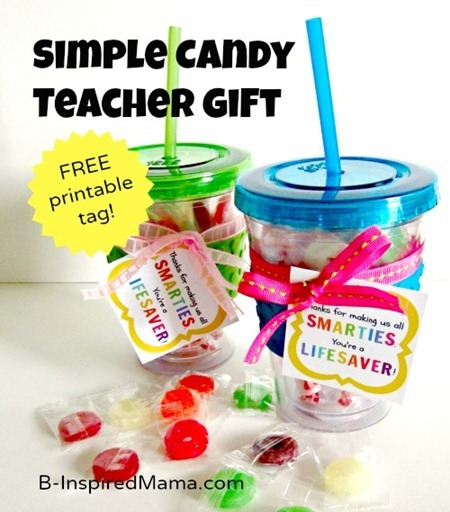 Teacher Appreciation Candy Gifts
