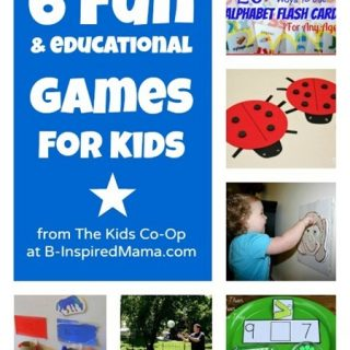 Fun Games for Kids from The Kids Co-Op at B-InspiredMama.com