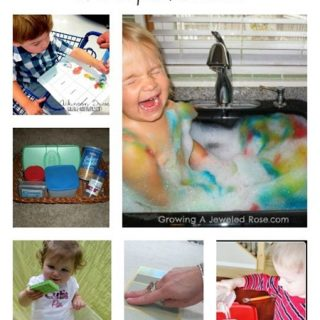 Ideas for Toddler Activities from The Kids Co-Op at B-InspiredMama.com