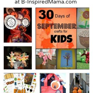 Fall Activities for Kids from The Weekly Kids Co-Op at B-Inspired Mama