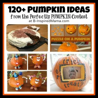 120+ Perfectly Pumpkin Ideas at B-Inspired Mama