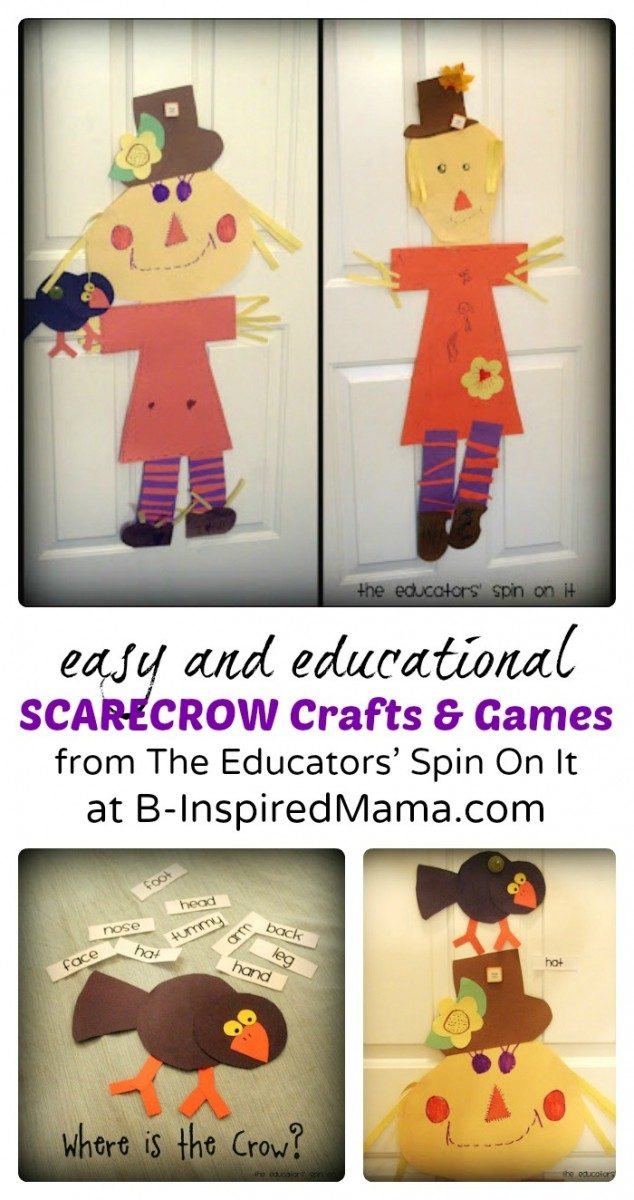 Easy Scarecrow Crafts and Games for Kids
