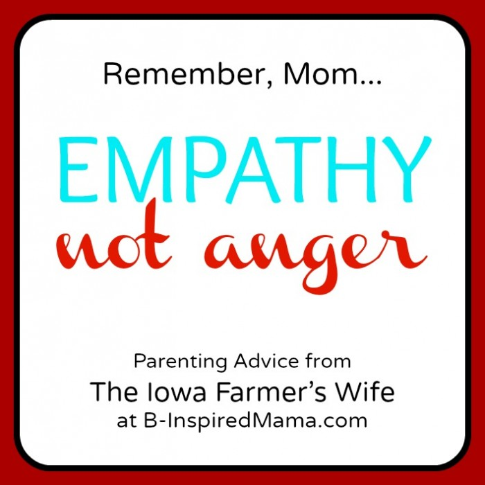 Iowa Farmer's Wife Parenting Advice on B-InspiredMama