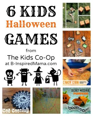 6 Kids Halloween Games
