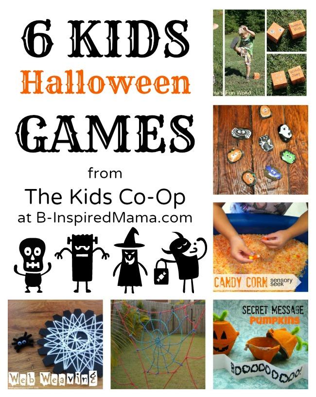 6 Kids Halloween Games