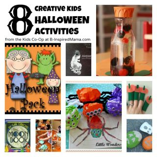 8 Kids Halloween Activities from the Kids Co-Op at B-Inspired Mama
