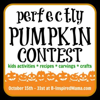 Perfectly Pumpkin Contest at B-Inspired Mama