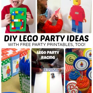 Creative LEGO Birthday Party Ideas + Free LEGO Printables