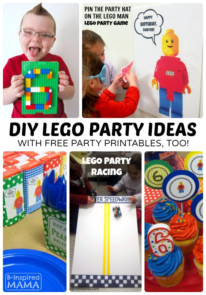 image about Lego Party Printable identified as Inventive LEGO Birthday Celebration Plans + No cost LEGO Printables