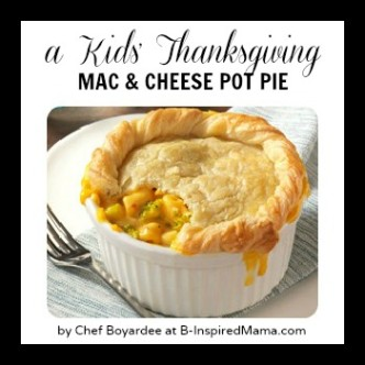 Mac & Cheese Pot Pie by Chef Boyardee at B-InspiredMama.com