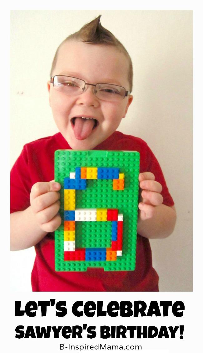 Sawyers Lego Birthday Party Invitation At B Inspired Mama