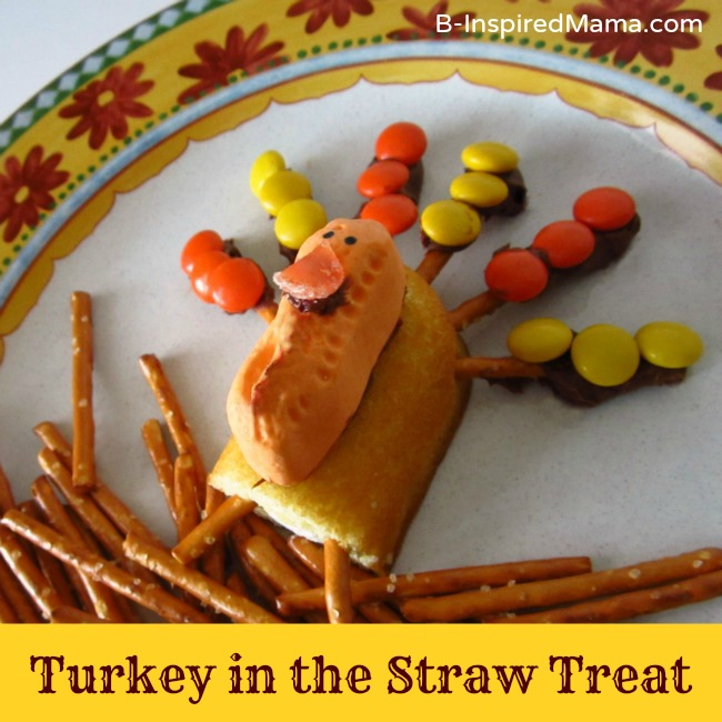 Thanksgiving Snack for Kids - Turkey Treat from B-Inspired Mama