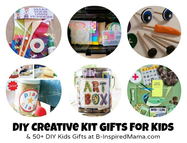 Do it yourself gifts to make for kids 55 handmade toys creative creative kits solutioingenieria Images