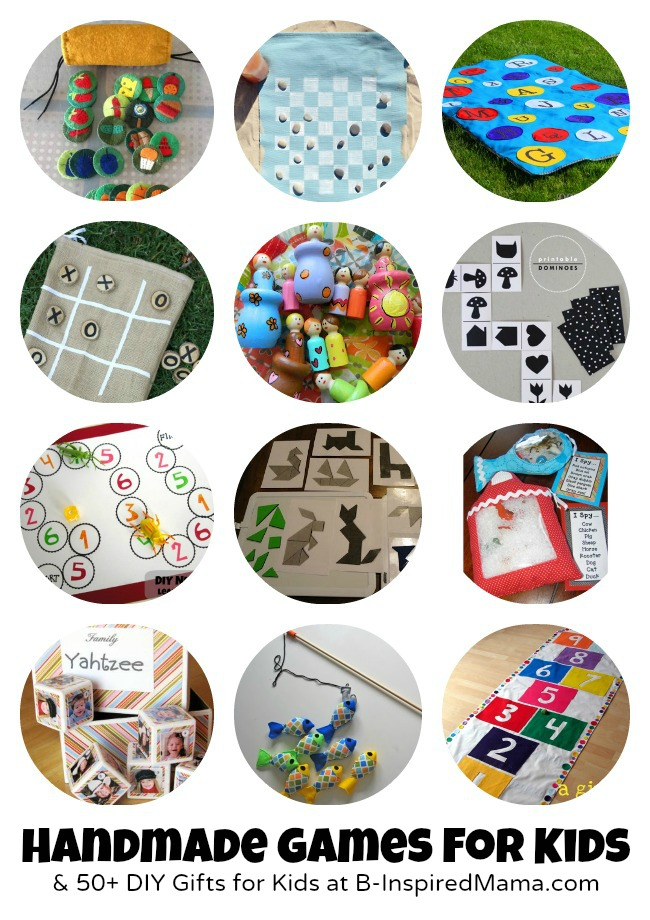 Do it yourself gifts to make for kids 55 handmade toys creative games to make for kids 50 more diy gifts at b inspiredmama solutioingenieria Choice Image