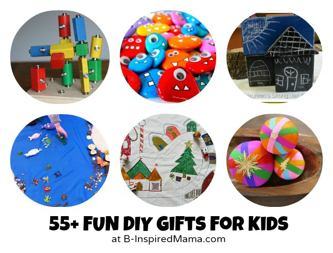 Do it yourself gifts to make for kids 55 handmade toys creative over 55 fun diy gifts to make for kids at b inspiredmama solutioingenieria Gallery