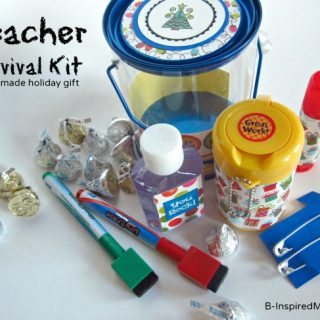 Teacher Survival Kit for the Holidays at B-InspiredMama.com
