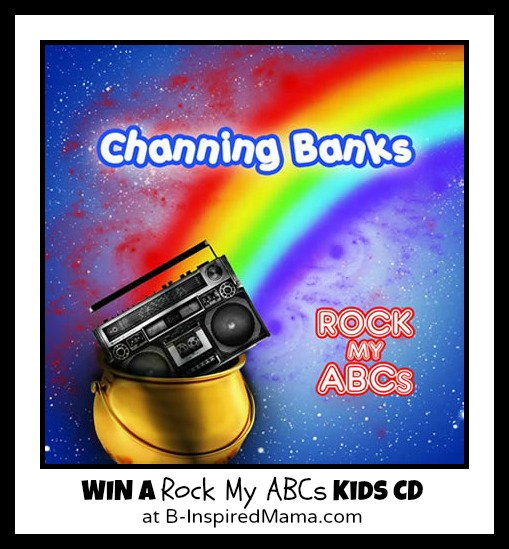 Win a Rock My ABCs Kids CD at B-InspiredMama.com