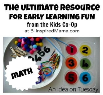 Early Learning Activities from The Kids Co-Op at B-InspiredMama.com