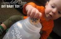 Snowflake Drop DIY Baby Toy from B-InspiredMama