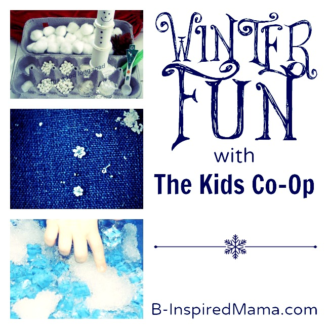 Winter Fun with The Kids Co-Op at B-InspiredMama.com