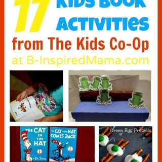 17 Children's Book Activities from The Kids Co-Op at B-InspiredMama.com