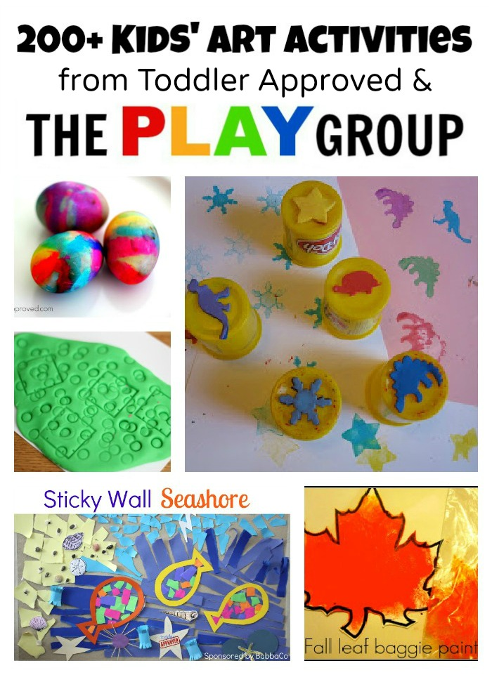 Art Activities From Toddler Approved The PLAY Group