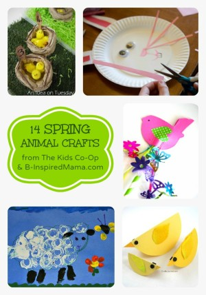 Spring flower egg carton craft for kids 14 spring animal crafts from the kids co op at b inspiredmama diy flower mightylinksfo Choice Image