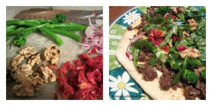 Beef Tostada with Fresh Ingredients from HelloFresh at B-InspiredMama.com
