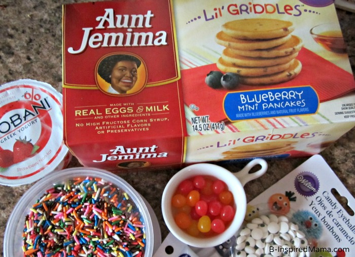 Bunny Pancake Ingredients from B-InspiredMama.com