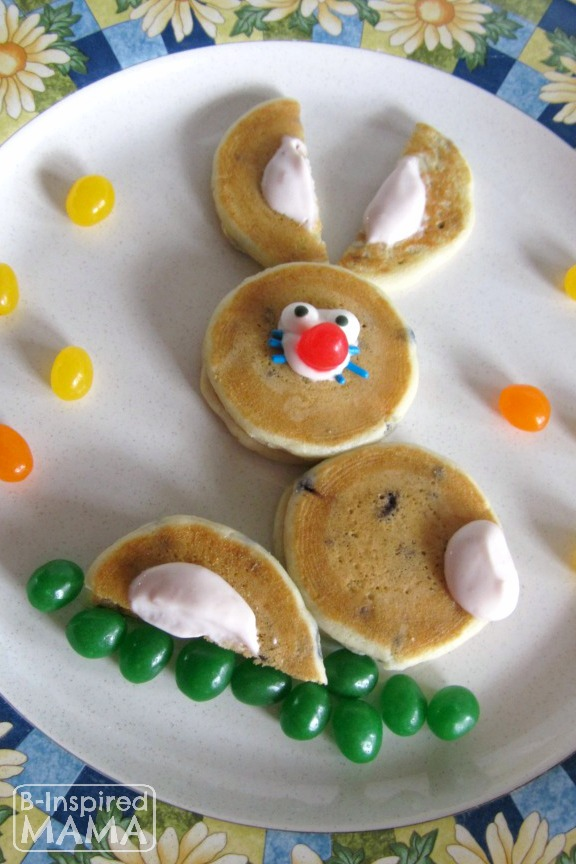 5-Minute Easter Bunny Pancakes Recipe for an Easter Morning Tradition the kids will LOVE!