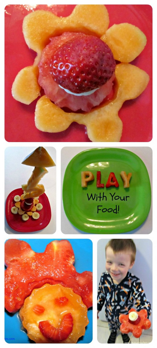 Play with Food - Fun with Fruit from The Usual Mayhem at B-InspiredMama.com