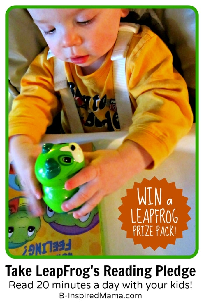 The Reading Month Pledge [+ LeapFrog Giveaway]