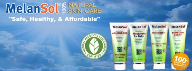 MelanSol Natural Baby Sunscreen and Moisturizer Giveaway at B-InspiredMama.com