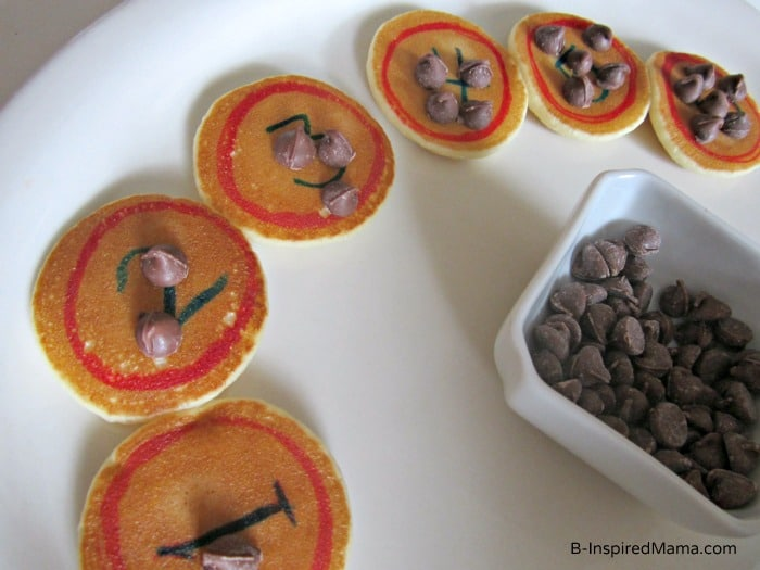 Early Learning Number Practice with Mini Pancakes from Eggo at B-InspiredMama.com.com