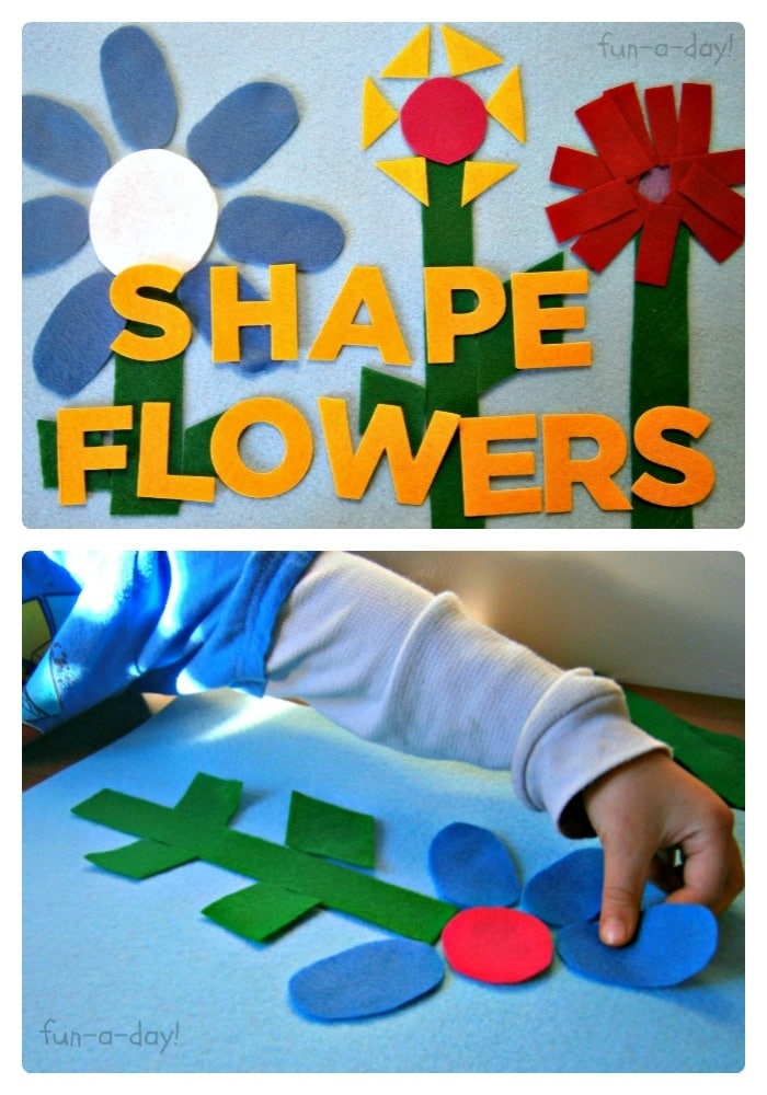 Felt Shape Flowers