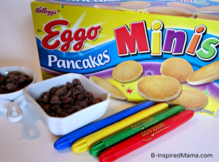 Ingredients for Early Learning with Mini Pancakes from Eggo at B-InspiredMama.com