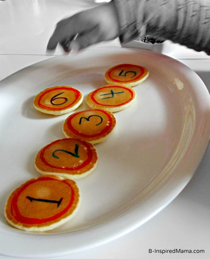 Kids Early Learning with Mini Pancakes from Eggo at B-InspiredMama.com