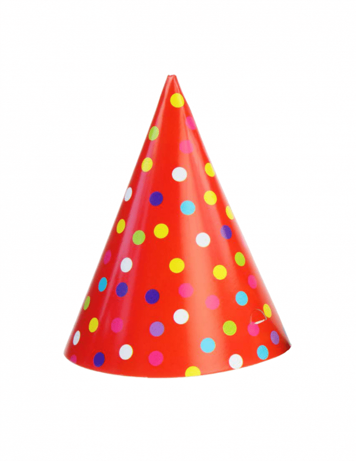 LEGO Man Party Hat | B-Inspired Mama