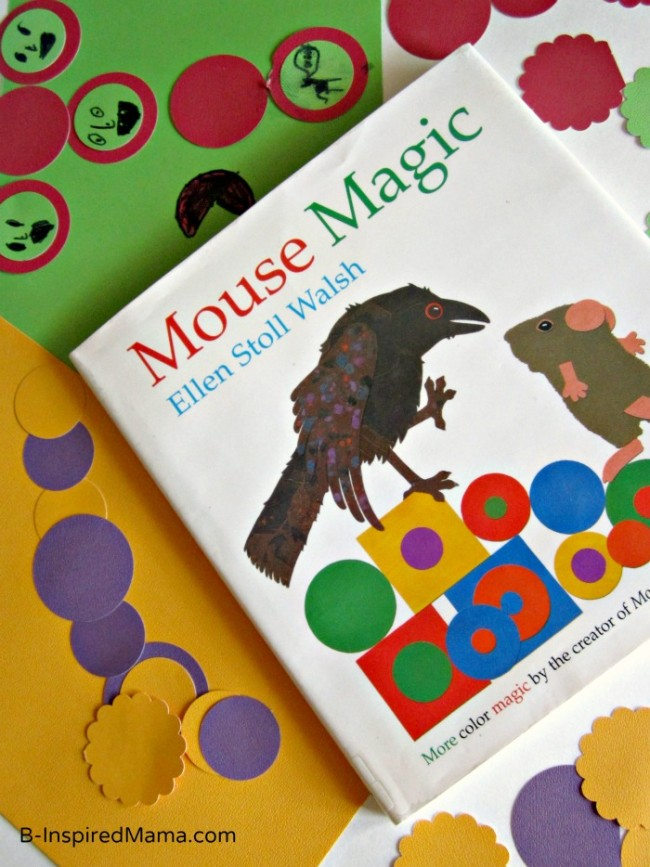Magic Colors Kids Art Project Based on the Book Mouse Magic .comat B-InspiredMama